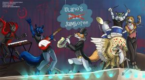 [YCH Commission/FNAF]  Ulario's Pizza Jamboree by Ulario