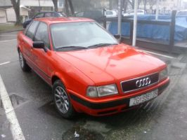 Audi 80 With GEOHVAT Graphics by PoKeMoNosterfanZG