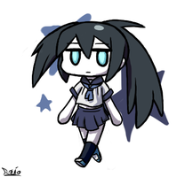 Chibi BRS with Mato outfit by RocketHaruka