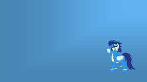 Soarin Wallpaper by eaglehooves
