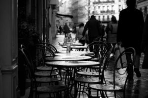 Cafe after the rain by elsenorbw