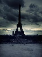 Eiffel Tower by demolition13lover