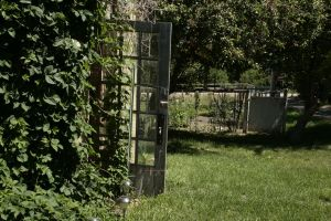 Garden door stock by Aphoticbeauty