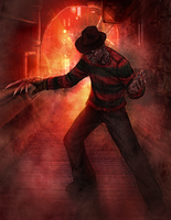 Horror Legends- Freddy Krueger by thedarkcloak
