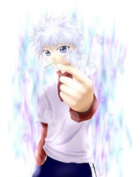 killuas ice candy by panchan77