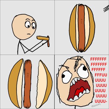 Hot Dog FAIL by ZsieM