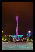 Canton Tower Vibance by WiDoWm4k3r