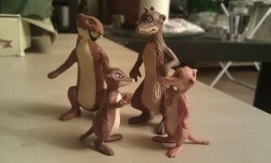 Farthing wood Hornby Weasels by CrocodileRawk