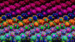 Wall of Color by Fractamonium