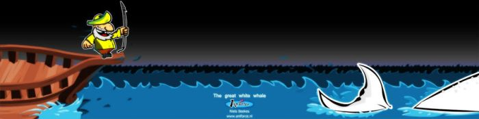 The great white whale by Aniforce