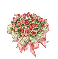 Rose bouquet png by jinifur
