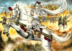 The Battle of Changban by Amelie-the-Fox