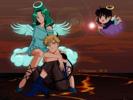 Angels and Demons by gersimy
