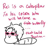 Caterpillar Rei by Crazy-Baka