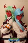 PandSwG: Demon Sisters by HelloKot