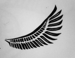 Tribal Val' Wing by BlakSkull