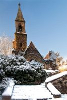 Church in the snow 1 by CharmingPhotography