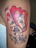 Cry later jester by soldiersinktattoos