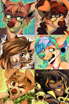 Icon commissions by Jeniak