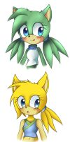 Awesome faces by VolieTheHedgehog