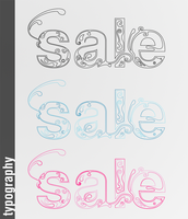 Typography - Sale by phreezer