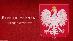 Poland Coat of arms by saracennegative