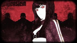 Black Gold Saw Wolfenstein The New Order by Noir-Black-Shooter