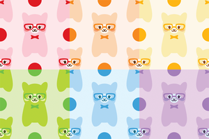tiling alpaca background by x-burner