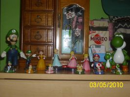 All my Mario figurines by PrincessNintendo64