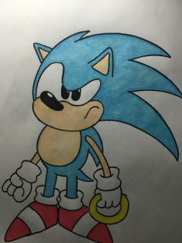 Toei Sonic by SomeStupidKid