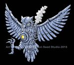 Steam Owl Color by GTDees