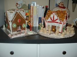 Icicle Inn Gingerbread Houses by Kahlan4