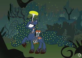 New Species : Cordycep Pony - The Nameless Queen by InsaneSpyro