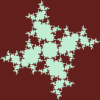 fractal star thirds by markdow