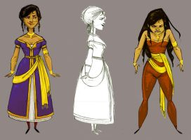 Char sheet India lady by katie8787