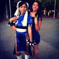 Chun Li Cosplay at Fanime 2012 by LexLexy