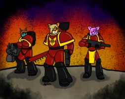 The Space Marines by Azikira