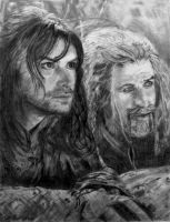 The Hobbit: Kili and Fili by SHParsons
