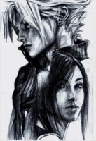 Cloud Strife X Tifa Lockhart by mytake