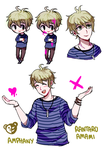 Rantaro sketches by Amphany