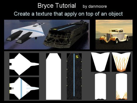 Bryce Tutorial : Lesson 3 by danmoore