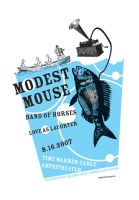 Modest Mouse, Band of Horses by jonhicks
