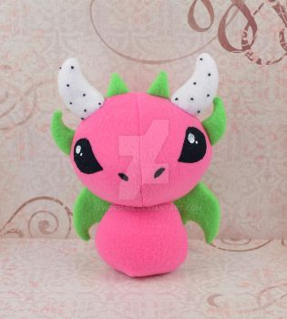 Dragon Fruit Plush by SewDesuNe