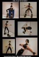 A Custom Action Figure of Cube by wbd