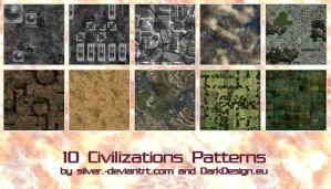 Civilization Patterns by silver-
