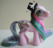 OOAK Custom Day of the Dead inspired MLP My Little by eponyart