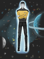 Star Trek Lt. Commander Data by mjjdcf