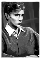 David Bowie Study by wick-y