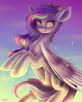 MLP - Fluffy Angel /AT by WingsterWin