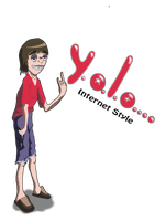 Yolo geek Internet style by LeperGnome